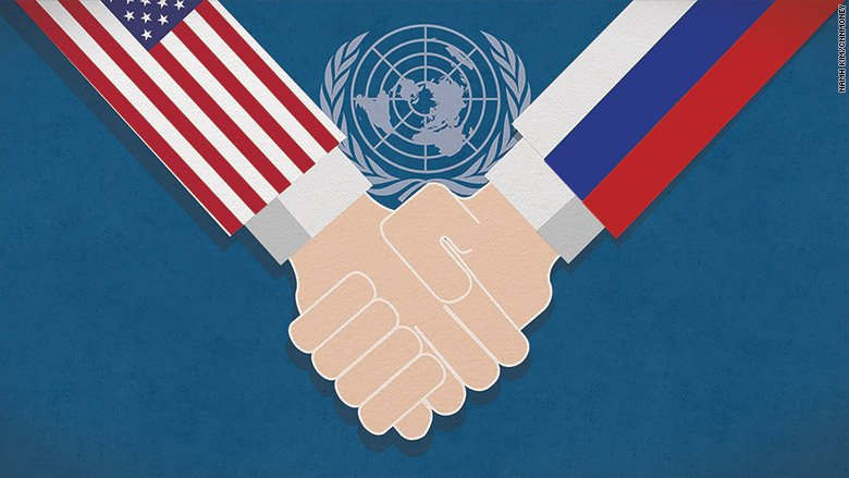 In rare show of solidarity, U.S. and Russia team up at United Nations to fight