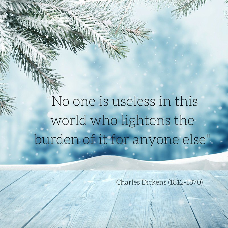 This week's #inspirationfriday comes courtesy of Charles Dickens and we couldn't agree more. #giving #charities https://t.co/BA8kJzWh2S