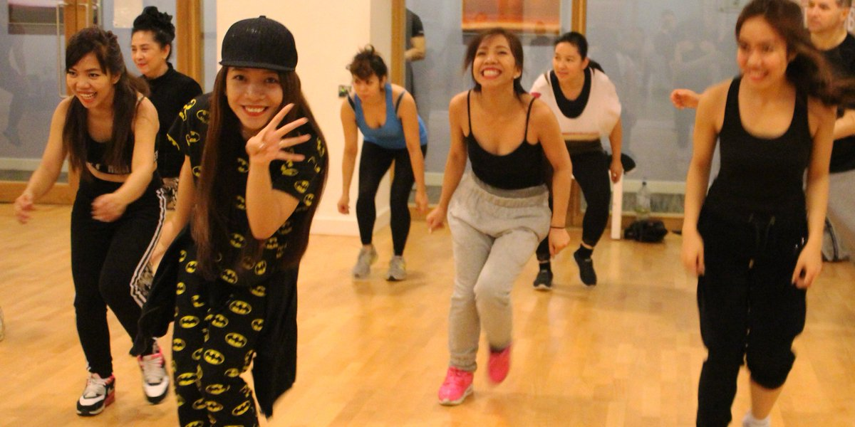 These girls certainly can dance! @4thImpactMusic tearing up the floor in our @diversedancemix class. @TheXFactor https://t.co/MhWxo3Q5Xk