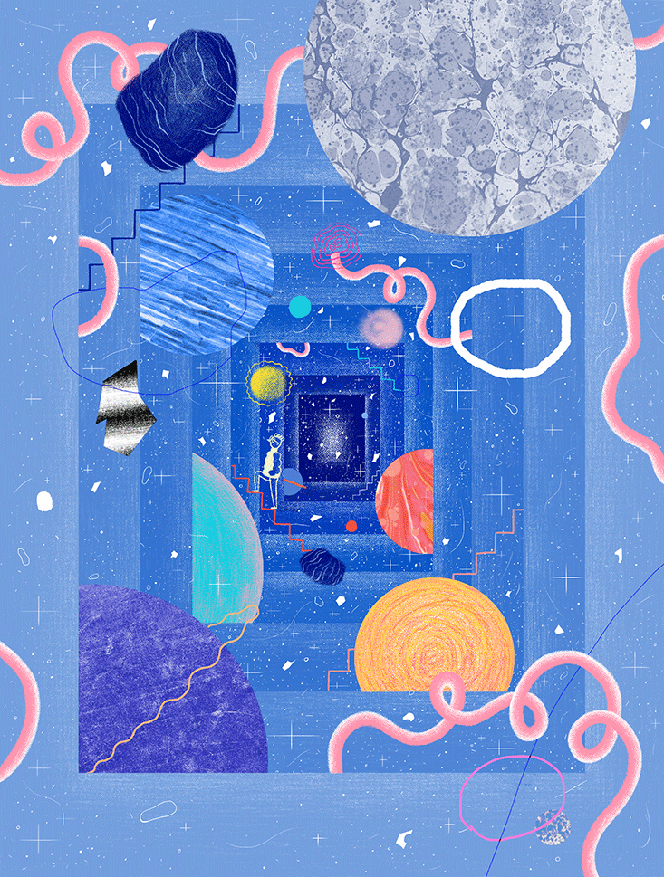 What a magical #illustration by @littleteashi for @NautilusMag about the 'Rarity of Life' – https://t.co/1M8By2M80x https://t.co/iwakqkeT4T