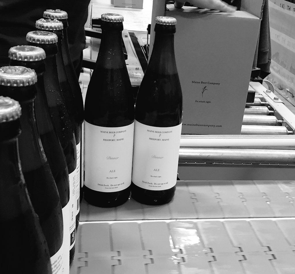 Bottling Dinner! #freshbeer https://t.co/cS11Mp4WRc