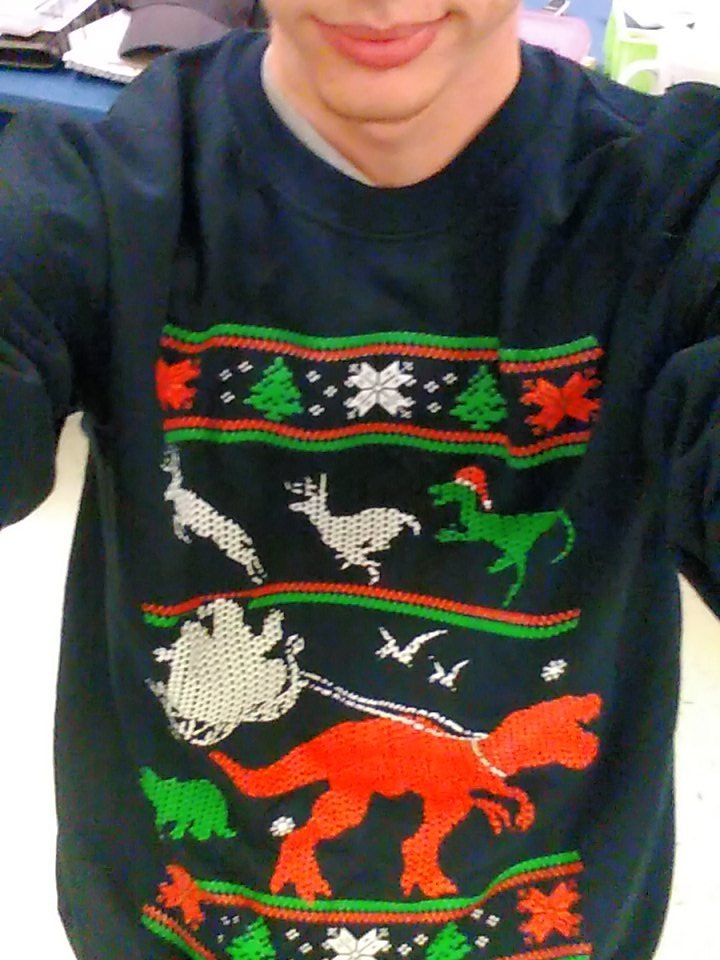 My sweater is better than yours https://t.co/59RscgIDDQ