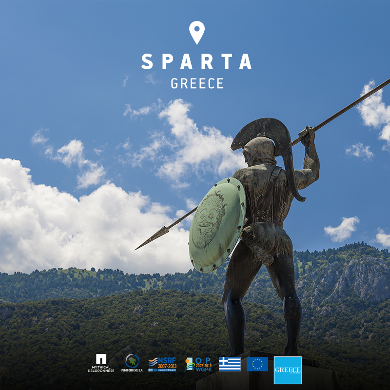 Relive one of Greece's timeless legends at Leonidas'  Tomb in Sparta.