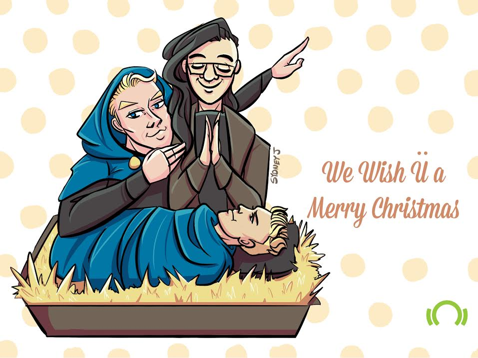Happy holidays! from @Skrillex, @diplo & Baby @justinbieber  See more DJ-inspired cards: https://t.co/AFg5ZrYzfU https://t.co/Tb97gI3mmB