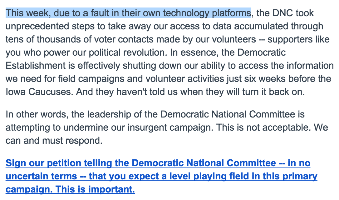 This email is mind-boggling. Raising money off of stealing HFA data, without acknowledging any fault whatsoever. https://t.co/4iMEooGxWN