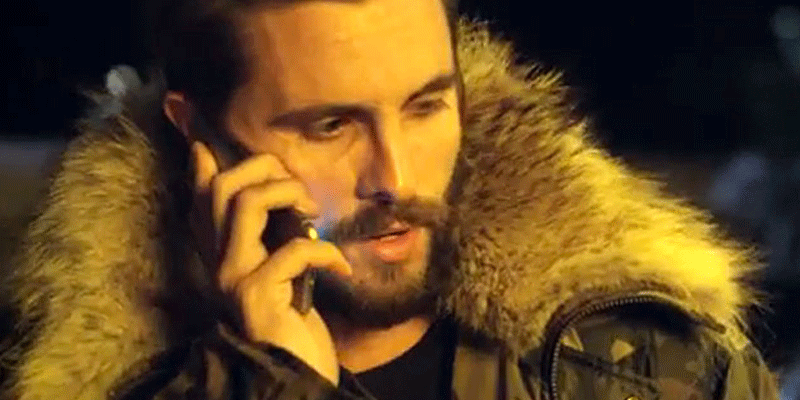 Scott Disick filmed Chris Brown's video just 10 days after split from Kourtney Kardashian