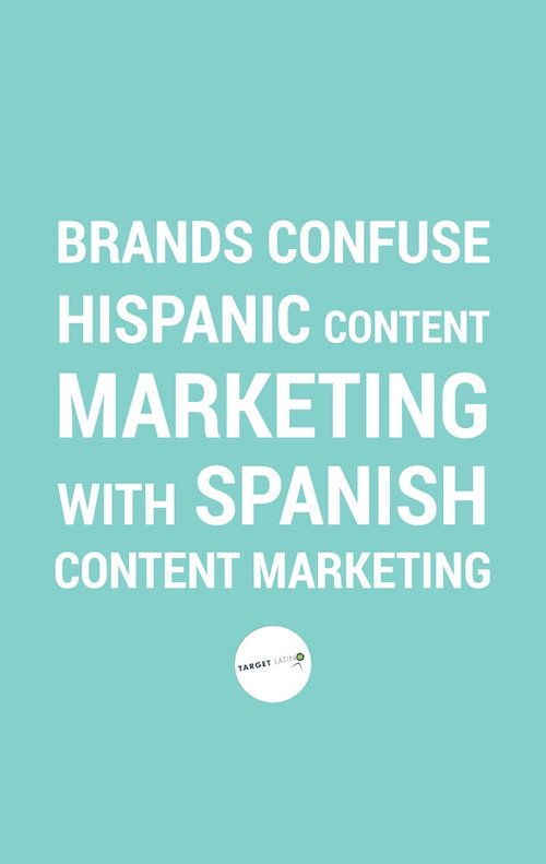 Brands confuse #Hispanic with Spanish #ContentMarketing https://t.co/UOSdSTWGRu https://t.co/e3a9UVq2HR https://t.co/SwOvXKxfYm