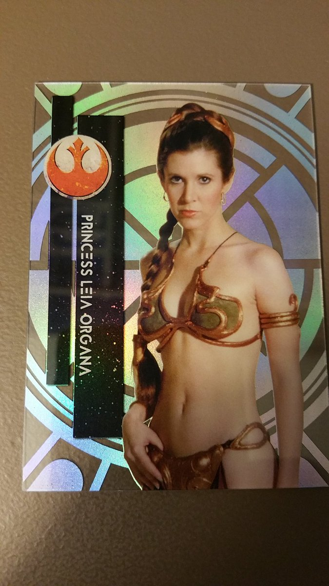 @Project1962 RT @CheapFunBreaks: Princess Leia variation 2b @blowoutcards @SHOWYOURHITS https://t.co/LQrmKmOTfC