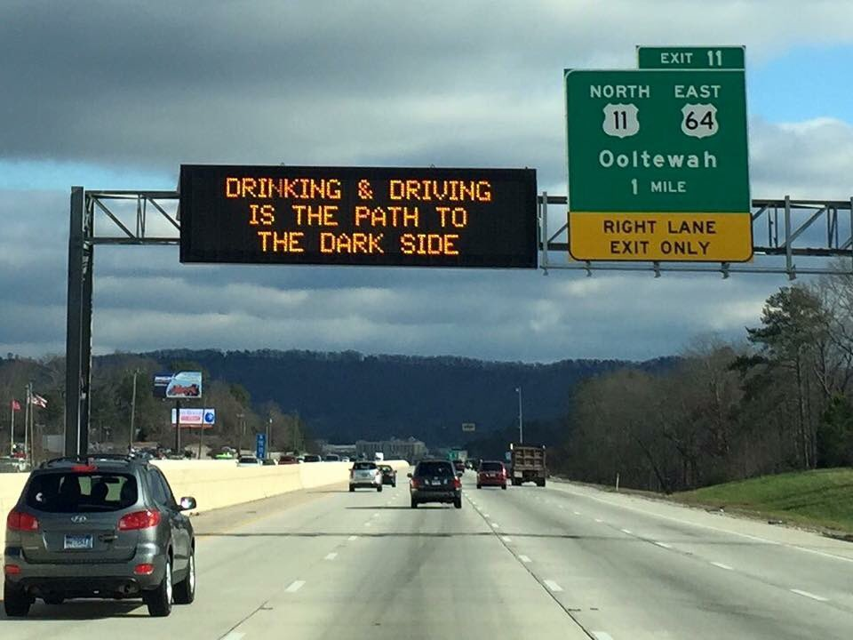 Drive safely you must. #StarWarsTheForceAwakens #TDOT https://t.co/m2XtODjT2y