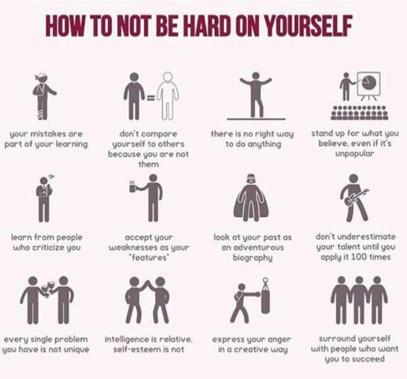 How to not be hard on yourself: https://t.co/3z6WKMayjC