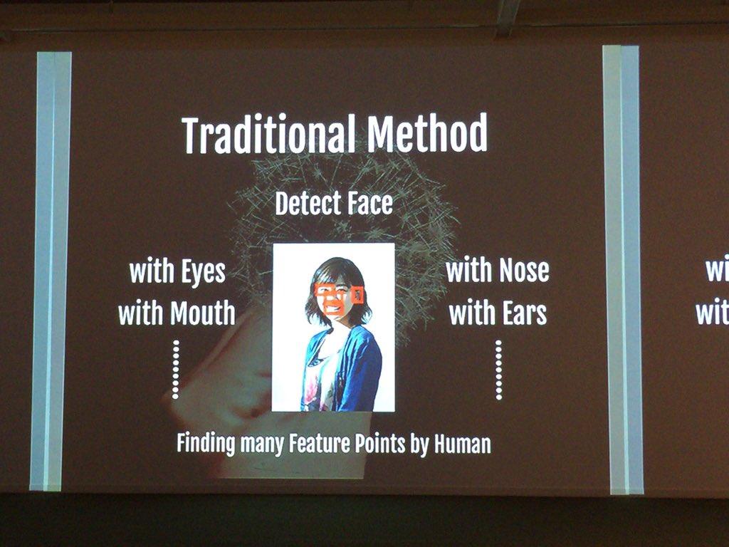 顔の認識 DeepLearningをすると簡単に認識 勝手にコンピュータが認識 #yakocloud https://t.co/mn39b8Cm03