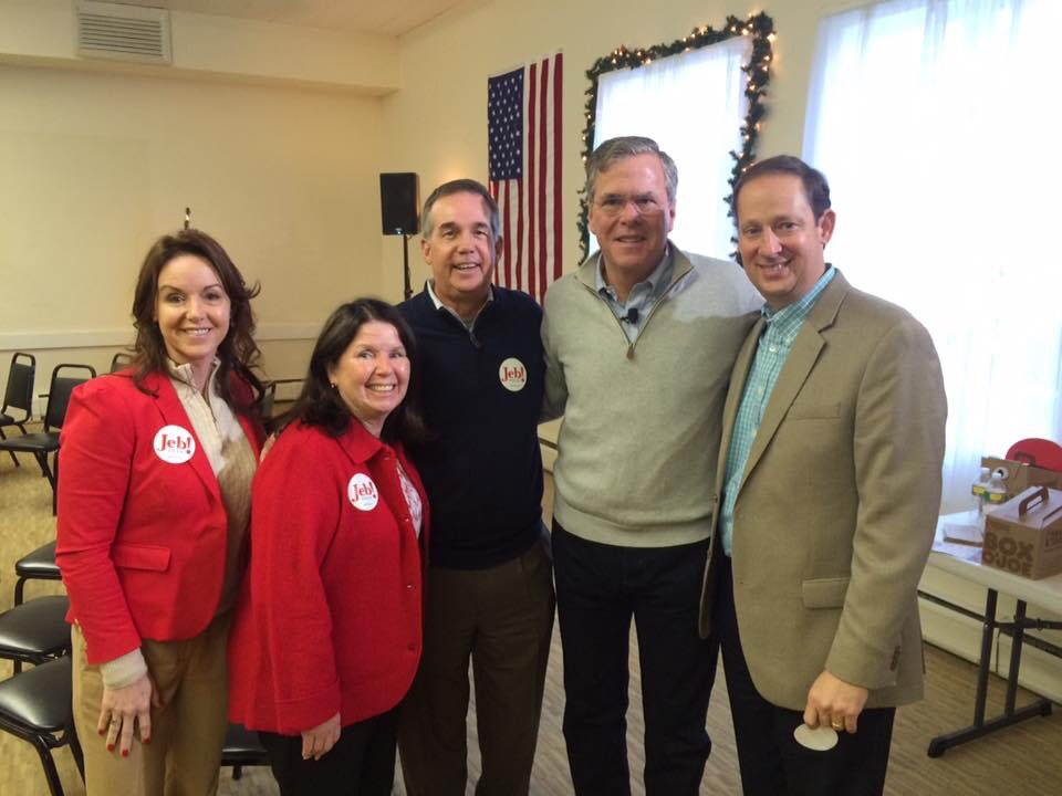 I believe #JebCanFixIt. That's why I was proud to stump for him on the trail in NH this wknd! #AllInForJeb https://t.co/QgP4gqzyuE
