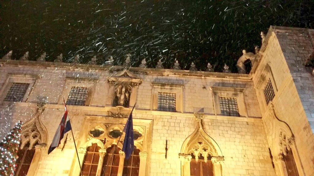 Snow  ❄ In  ❄ Dubrovnik  ❄ #CroatiaFullOfMagic https://t.co/fUywyEVXZ4