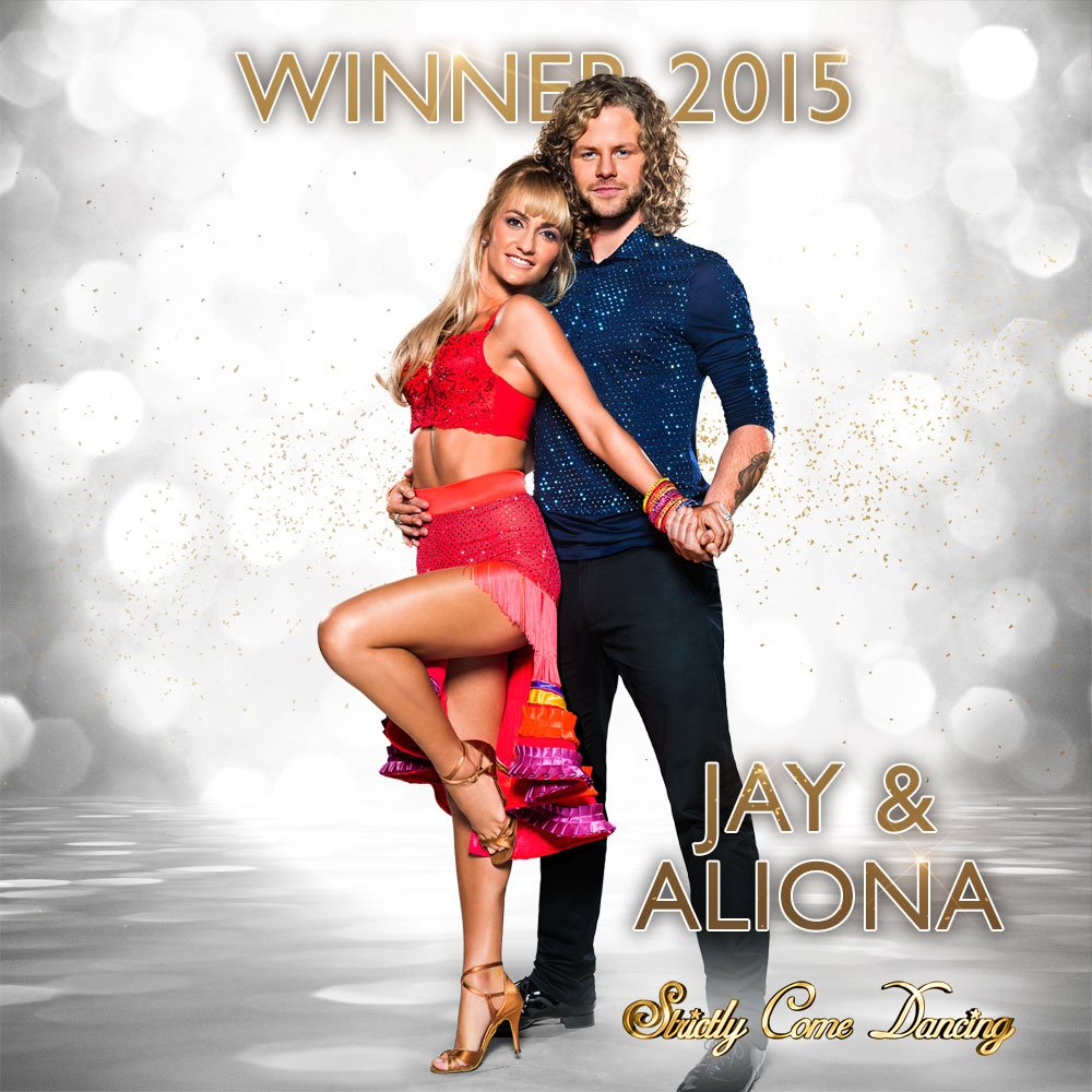 Congratulations to @JayMcGuiness & @AlionaVilani – our #Strictly 2015 winners! https://t.co/s4UqlRailW
