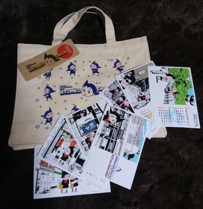 吉祥寺リベストギャラリーで開催中の手塚治虫文化祭、通称「キチムシ」でゲット。ATOMKOちゃん可愛い!\(≧▽≦)/  #キチムシ https://t.co/PxUIsFkZF8