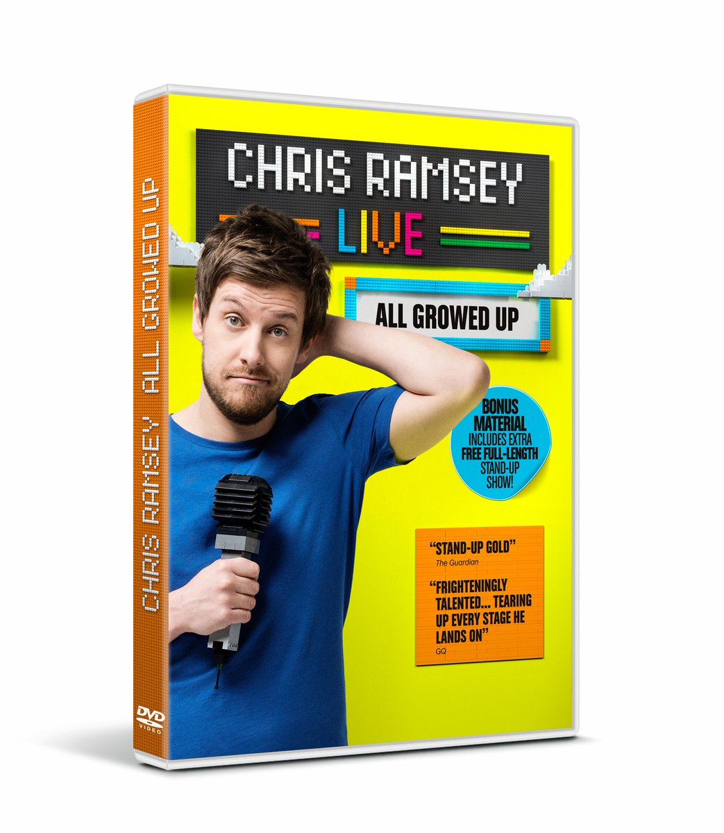 #WIN Christmas DVD #prize bundle inc. Chris Ramsey Live: All Growed Up with @Top10Films https://t.co/Rw9PtJTgw6 https://t.co/30zQ6sZ8IJ