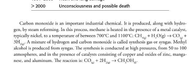 إذا بتحضر الميثانول من أول اكسيد الكربون لا تخلي محفز في المعمل ما تحطه !! من الآخر https://t.co/XYsaOHJV6i