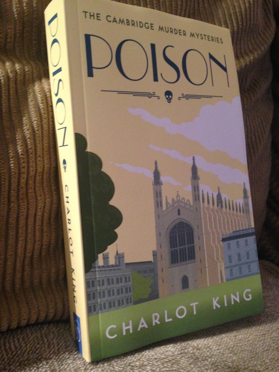 My crime novel, Poison, has just gone on sale on Amazon in paperback. Grateful for retweet: https://t.co/dfc1tdFjrN https://t.co/8pawWYN9qz