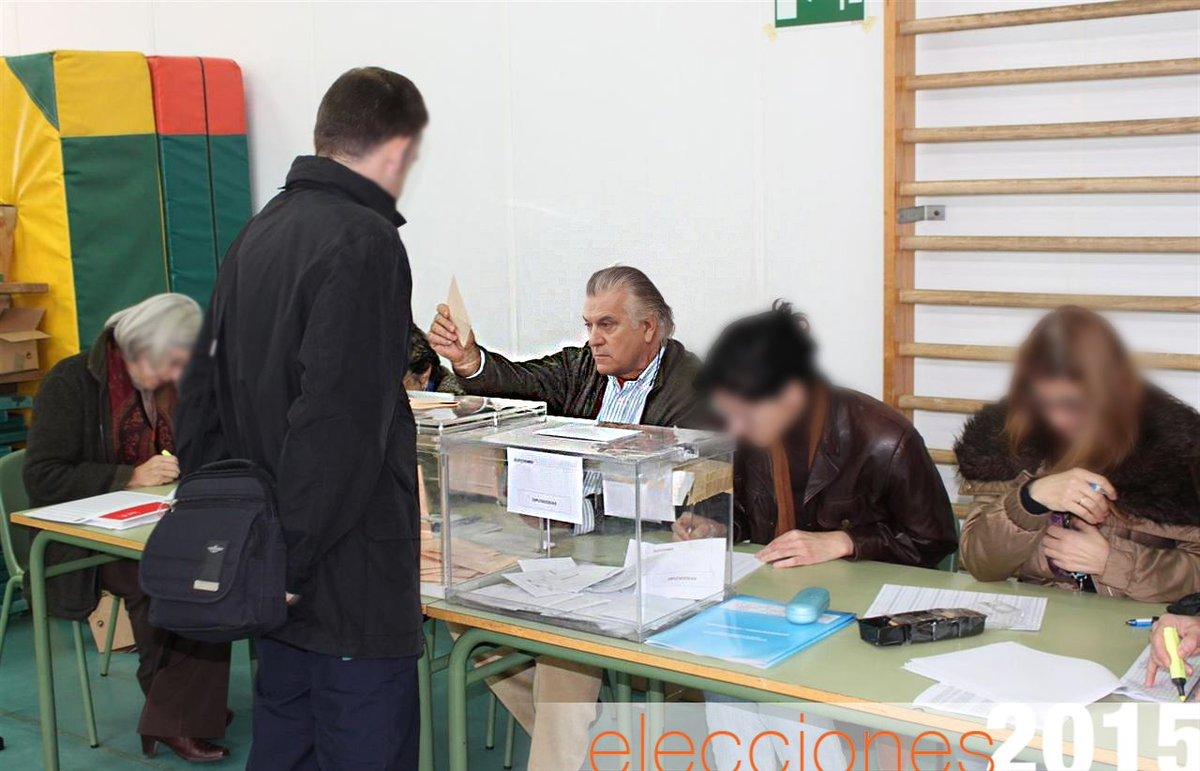 luis b rcenas presidente de mesa electoral
