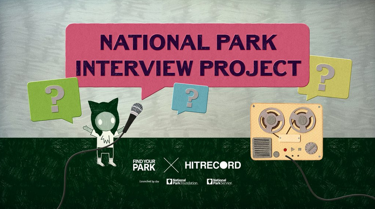 RT @hitRECord  We've launched the 1st stage of our new #FindYourPark project - info's here: https://t.co/Ztaq3WI3Jo https://t.co/oTHn83q1Ga