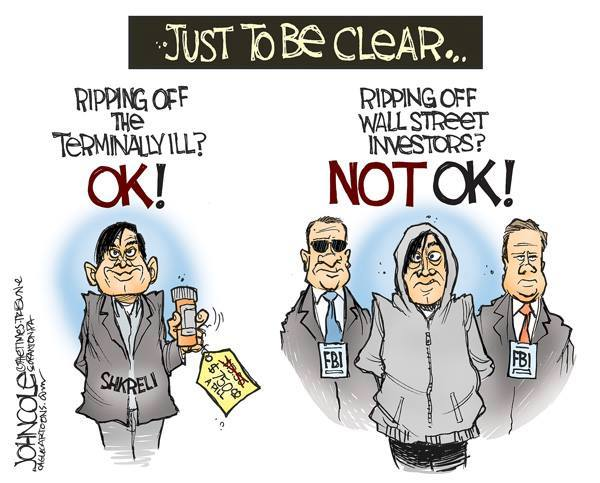 Just in case this whole thing with @MartinShkreli was not clear… by @ColeToon https://t.co/VK7xJaCem7