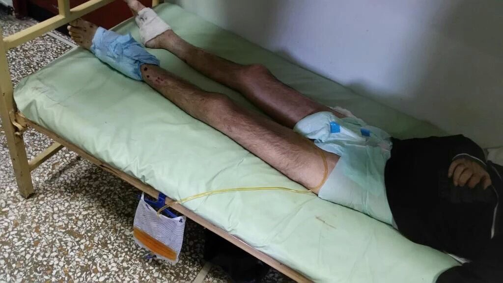 Sick people suffer in @kolastirio prison in #Greece. Please report about it. @France5tv @AP @RT_com #save_kolastirio https://t.co/jJsNR0UuhW