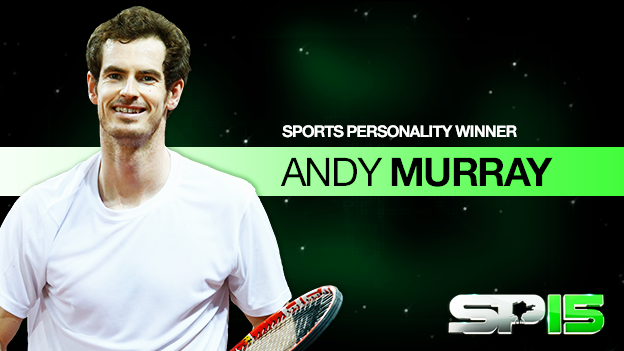 And the winner of BBC Sports Personality 2015 is...   Andy Murray!   #SPOTY https://t.co/mC9mOF9Jf6