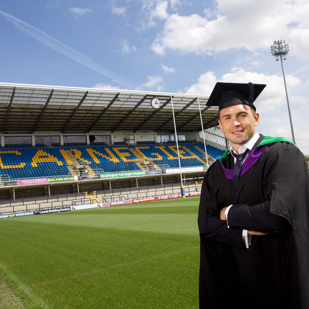 Congratulations to graduate @leedsrhinos Kevin Sinfield for finishing as runner up at #SPOTY2015 https://t.co/O538SDPH9m