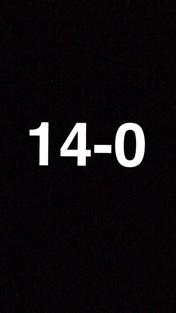 Gano makes us 14-0 !!!!! #PanthersNation https://t.co/MVz28KWUV5