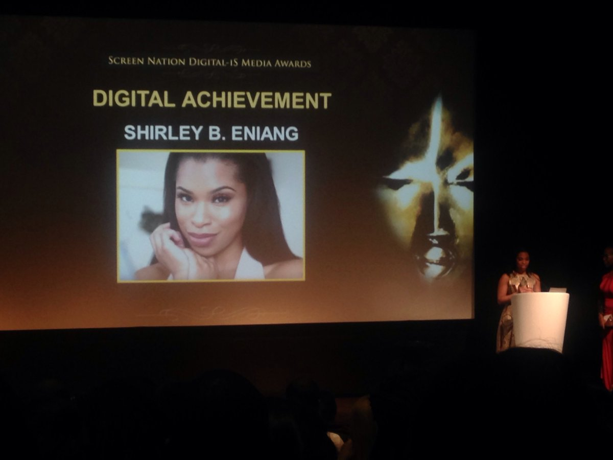 Our Digital Achievement Award goes to Shirley B.Eniang @ShirleyBEniang https://t.co/OTP3CB6t3v