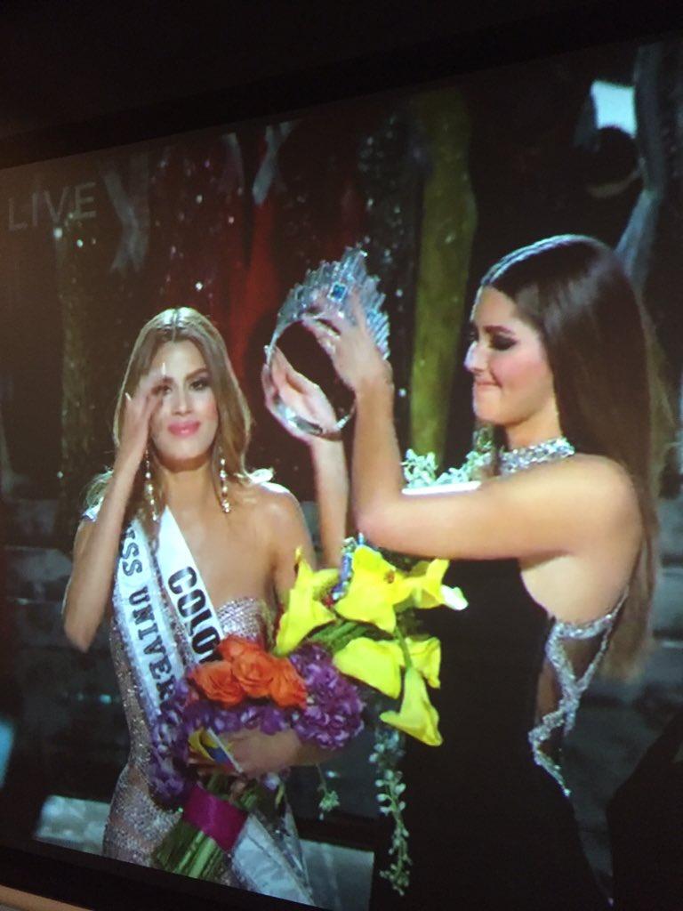 Mi respeto y admiración para las mujeres Colombianas quienes con clase y dignidad se comportaron como unas reinas https://t.co/ngH4ic2g8n