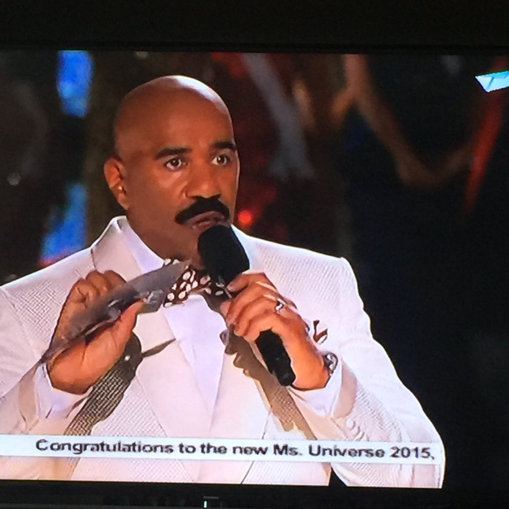 OMG! A first in Ms Universe history. Host makes the most embarrassing mistake.