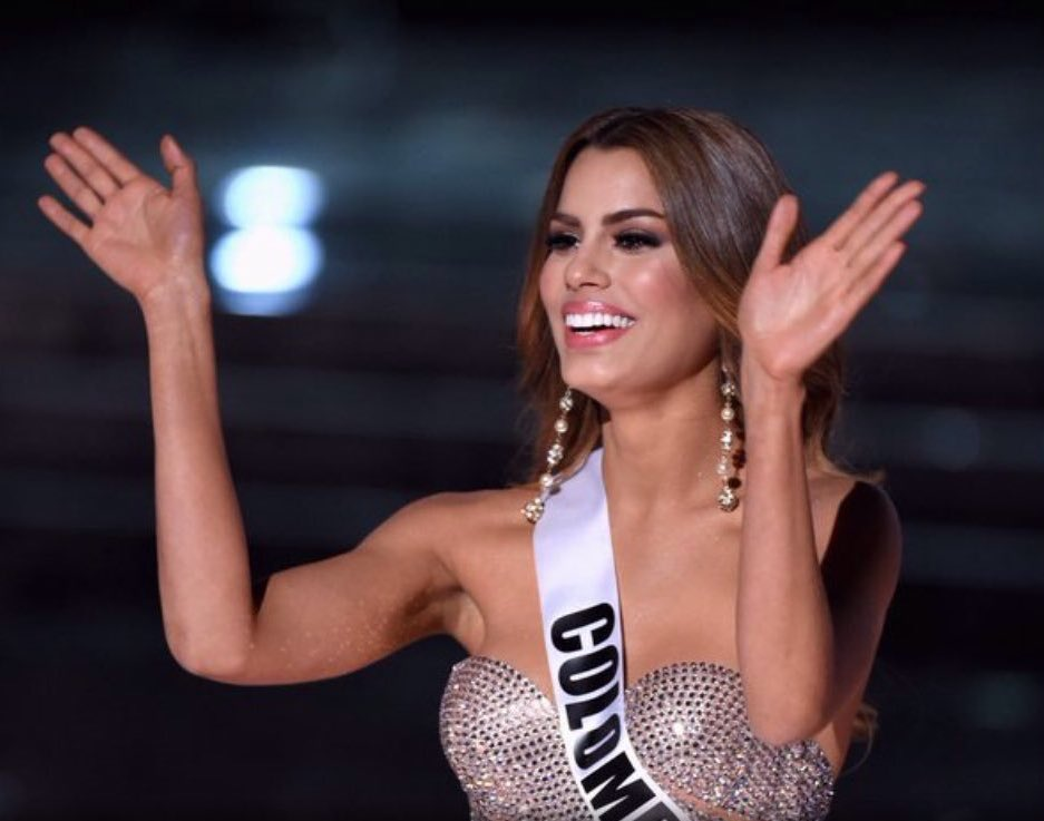Tu eres la Reina @gutierrezary. Todo un país orgulloso de tu representación. https://t.co/oFrxB1ImtH