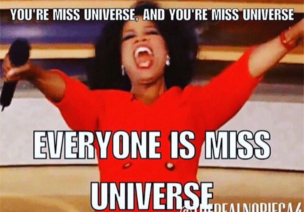 Where is #Oprah when we need her?! #MissUniverse2015 https://t.co/YqwL1NlvIm