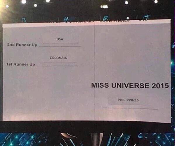A classic case of where a user blames himself for what is actually just bad design. #MissUniverse2015 https://t.co/hRWmwvrqbs