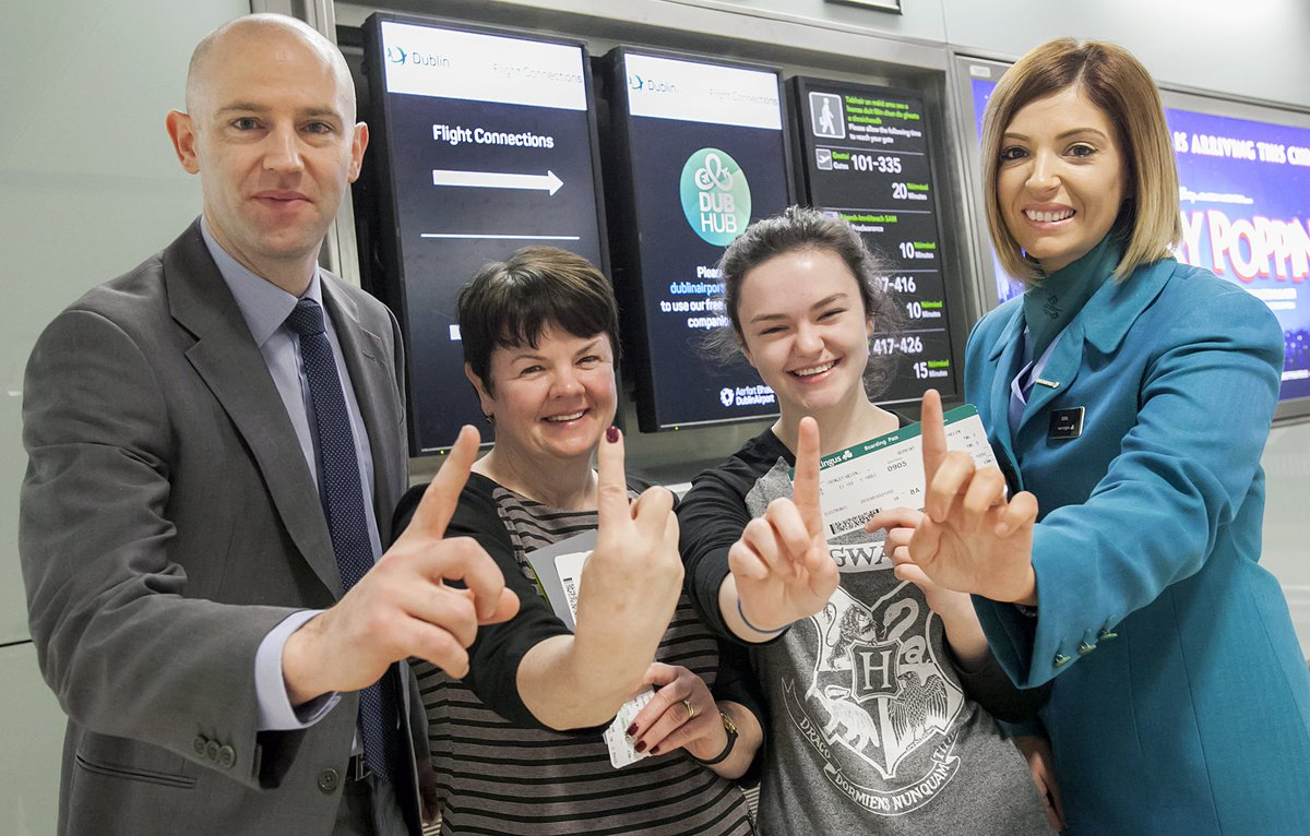 1 million people have used @DublinAirport as a hub to connect onwards to another destination