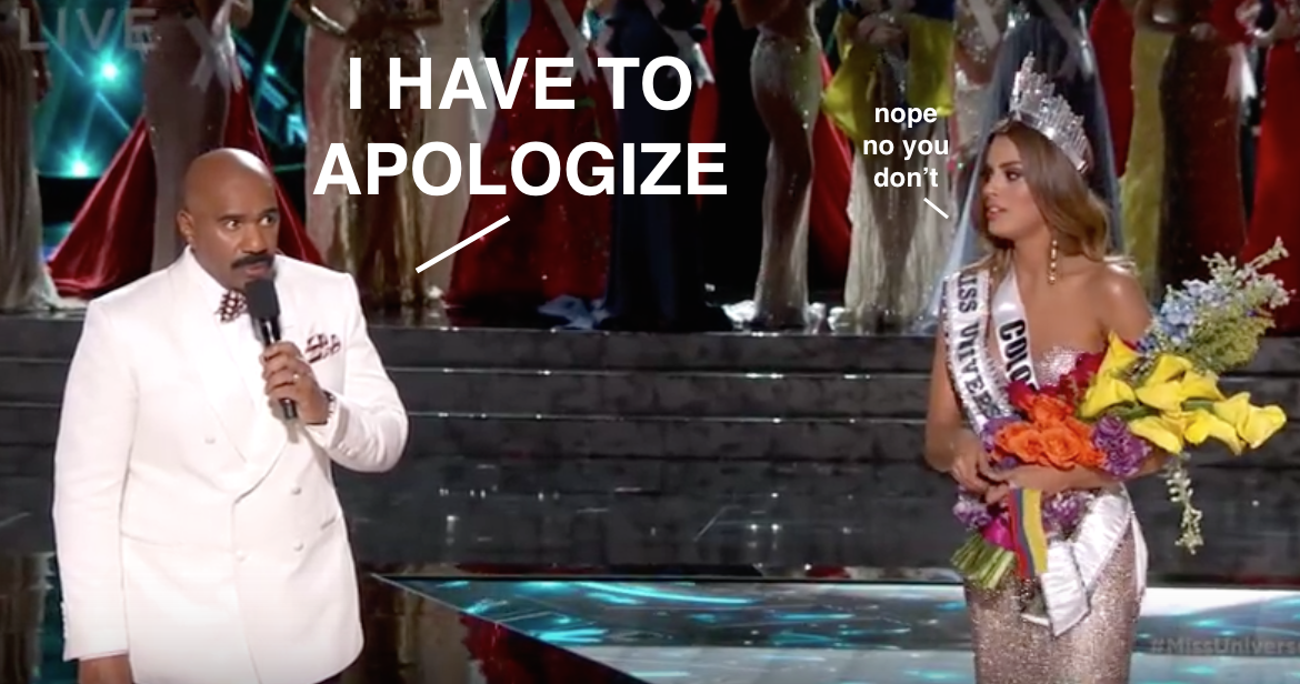 That #MissUniverse2015 mistake tho! https://t.co/YgjeddVwkL