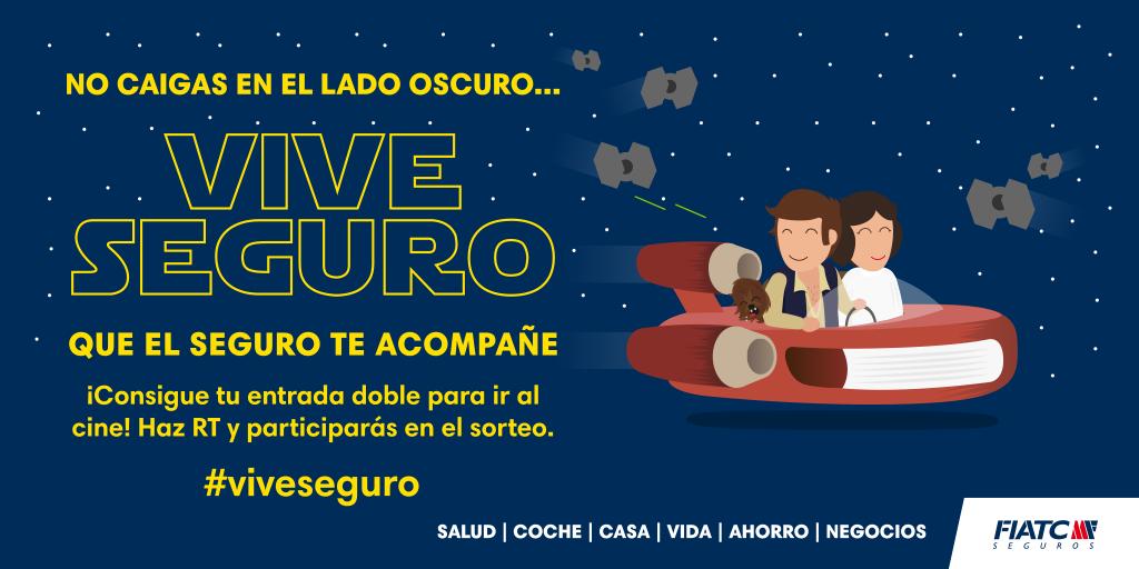 ¡Recuerda que ya falta menos para el sorteo! ¡Haz RT y estate atento! ;) #TheForceAwakens #viveseguro https://t.co/jqXIXnT9lu