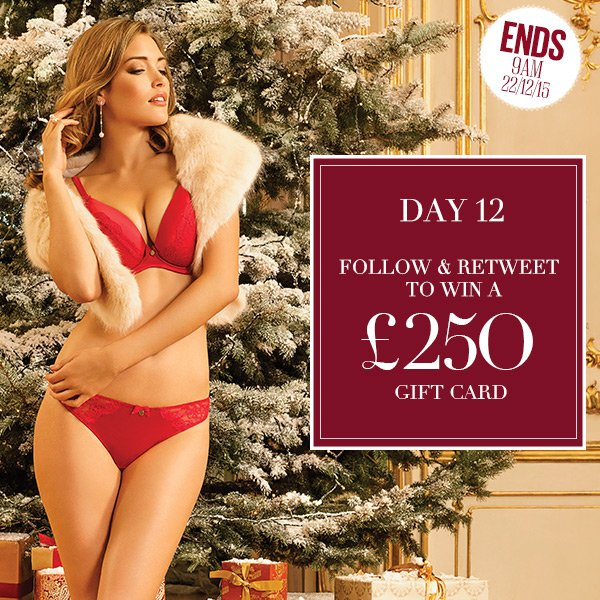 Day 12 of #GiftsFromBoux! #Win a £250 gift card with our competition! Follow & RT to enter. Love Miss B x https://t.co/nU12kReBOF