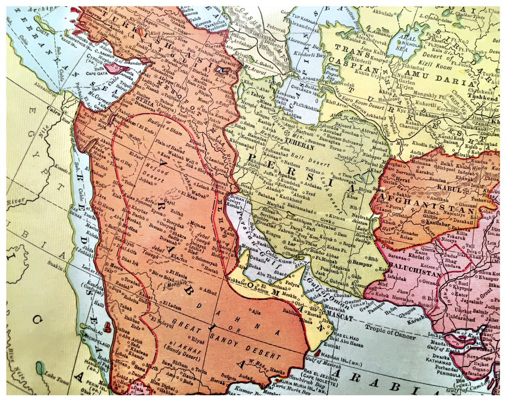 A lot has changed in 100 years. middle east map 1903: - scoopnest.com