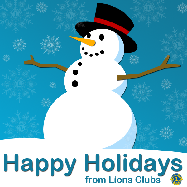 Happy Holidays from Lions Clubs! https://t.co/RNDNIQoJTV