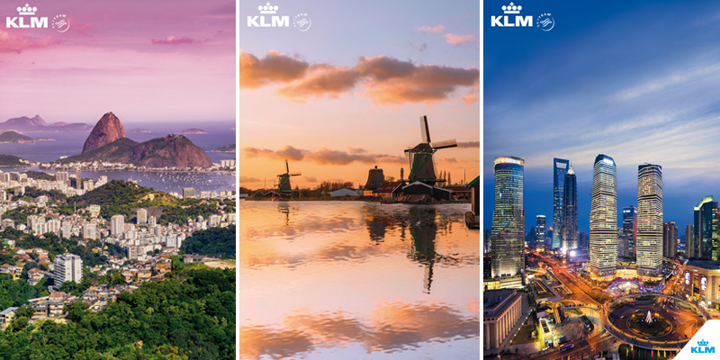 Big plans for 2016? Then this giant KLMcalendar is perfect for you.