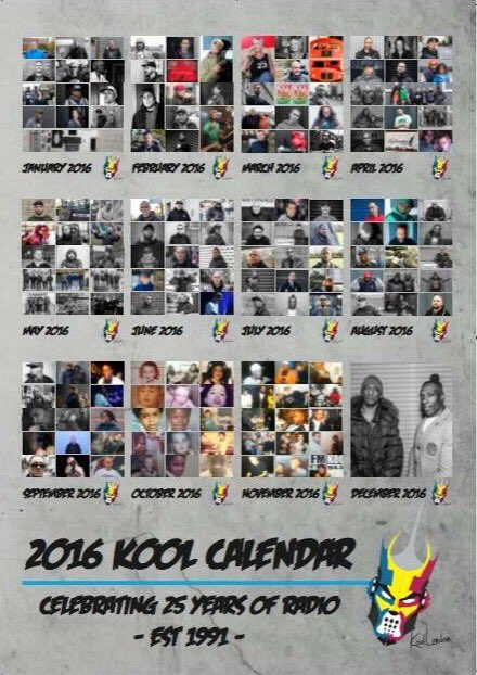 PLEASE RETWEET Our @koollondon 2016 Calendar Celebrating 25 Years of Radio is On Sale Now! Check Website for Details https://t.co/l297HlbPNX