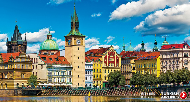 Prague is an unique blend of east and west influences! Explore it now with @SkylifeMagazine.