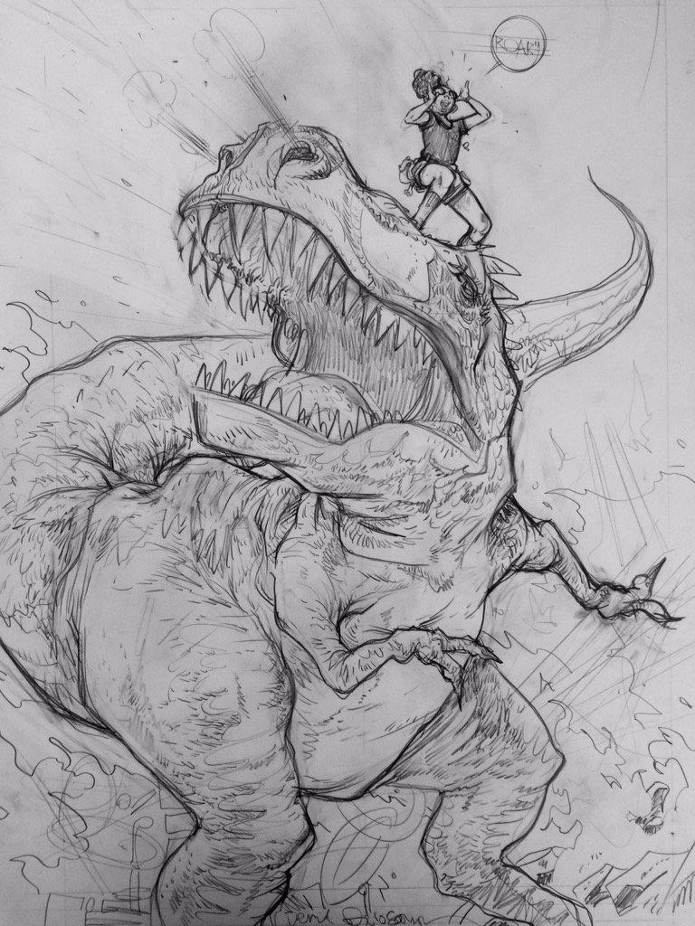 Moon Girl/Devil Dinosaur #3 (pencils) https://t.co/NfLmDoQc73