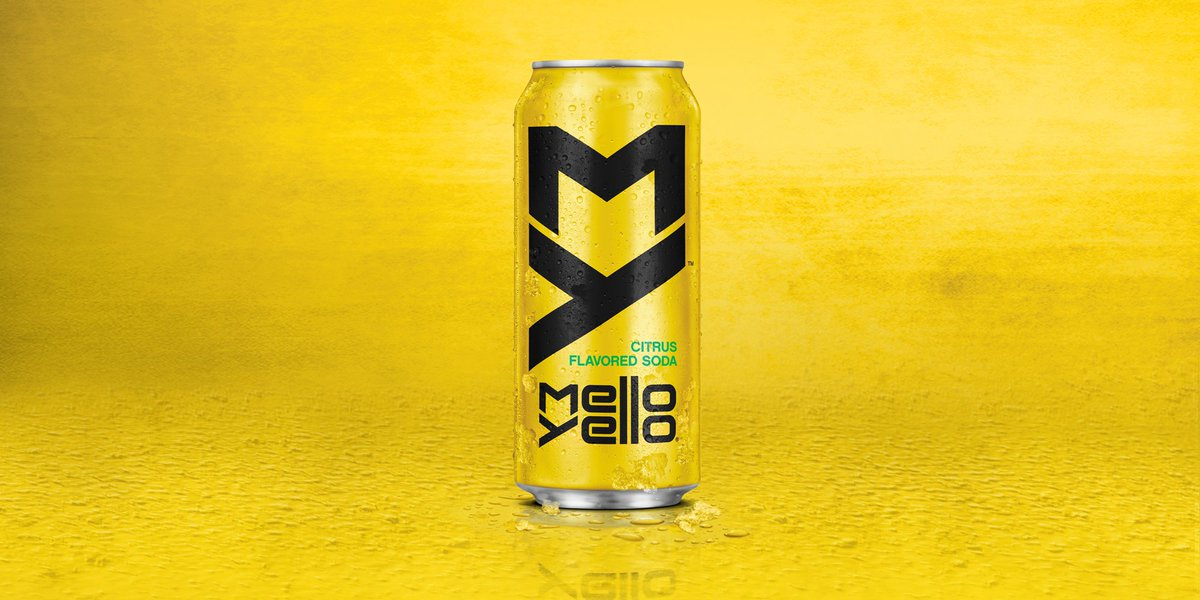First look at Mello Yello's new sleek makeover coming in 2016! New look, same great taste you love! https://t.co/k4o5A77fc0