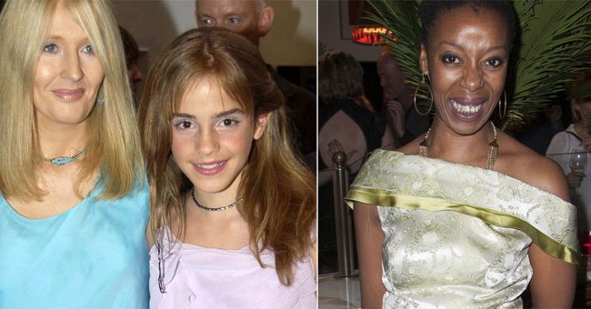 J. K. Rowling stands by the new Hermione actress in the best way...