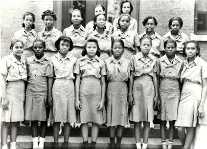The first African American Girl Scout troop circa 1930. #BlackoutDay https://t.co/lTevNOq9FS