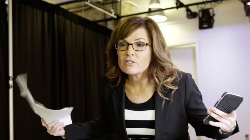 .@SarahPalinUSA mocks Tina Fey in this