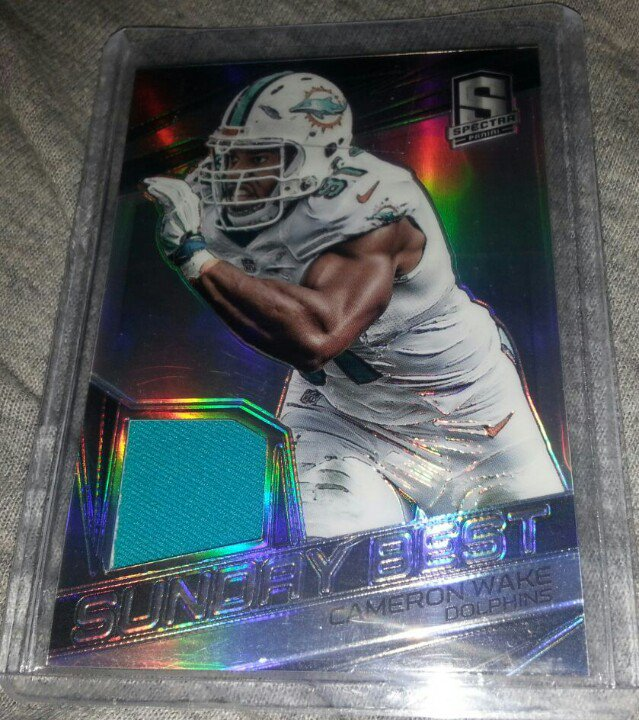 Another #PWEPayitForward for this @PaniniAmerica Cameron Wake RT for your chance to win. Winner picked tomorrow https://t.co/y1Urbtx0AS